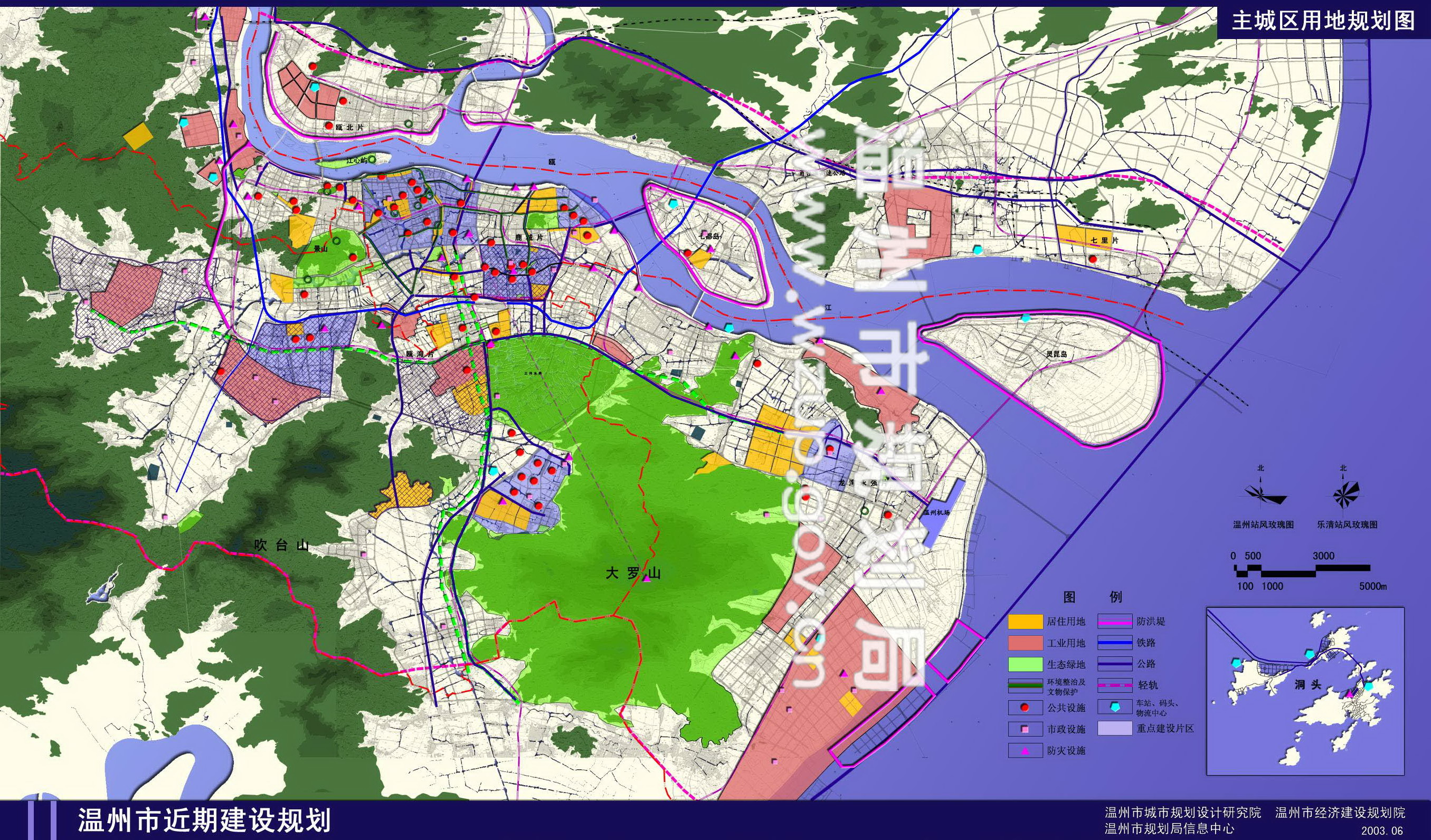 龙湾区行政地图