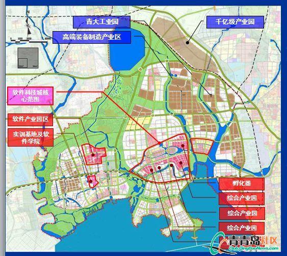 红岛(青岛高新区)规划公开