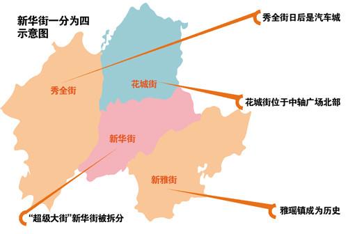 广州市花都区七镇一街将变六镇四街