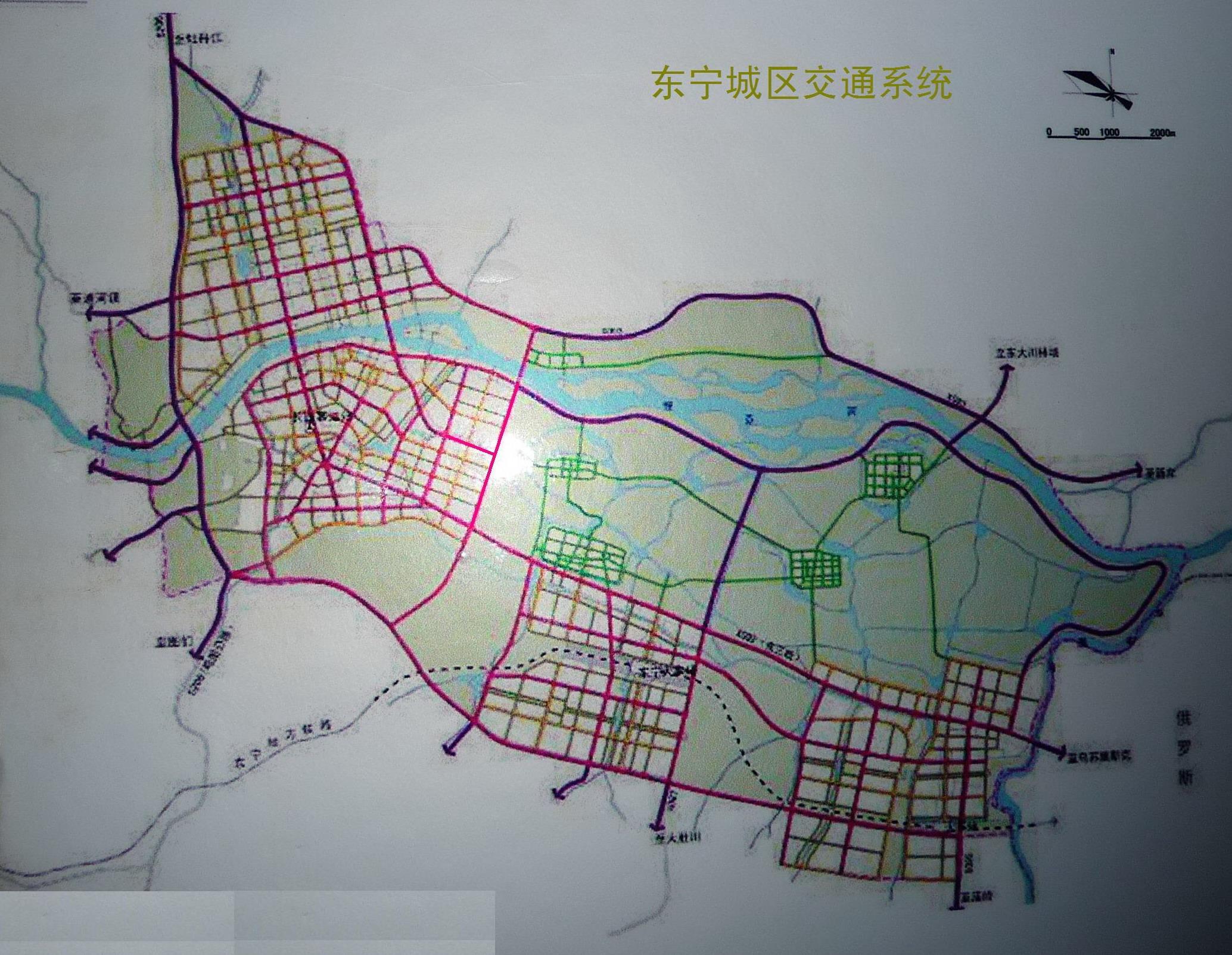 东宁市规划图