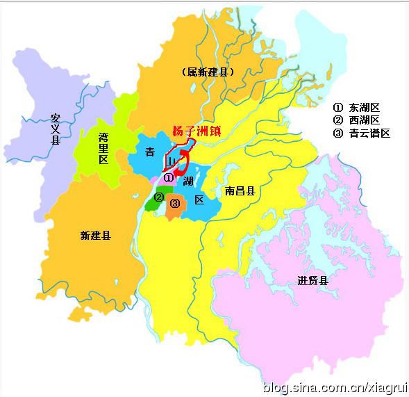 江西省高清行政地图