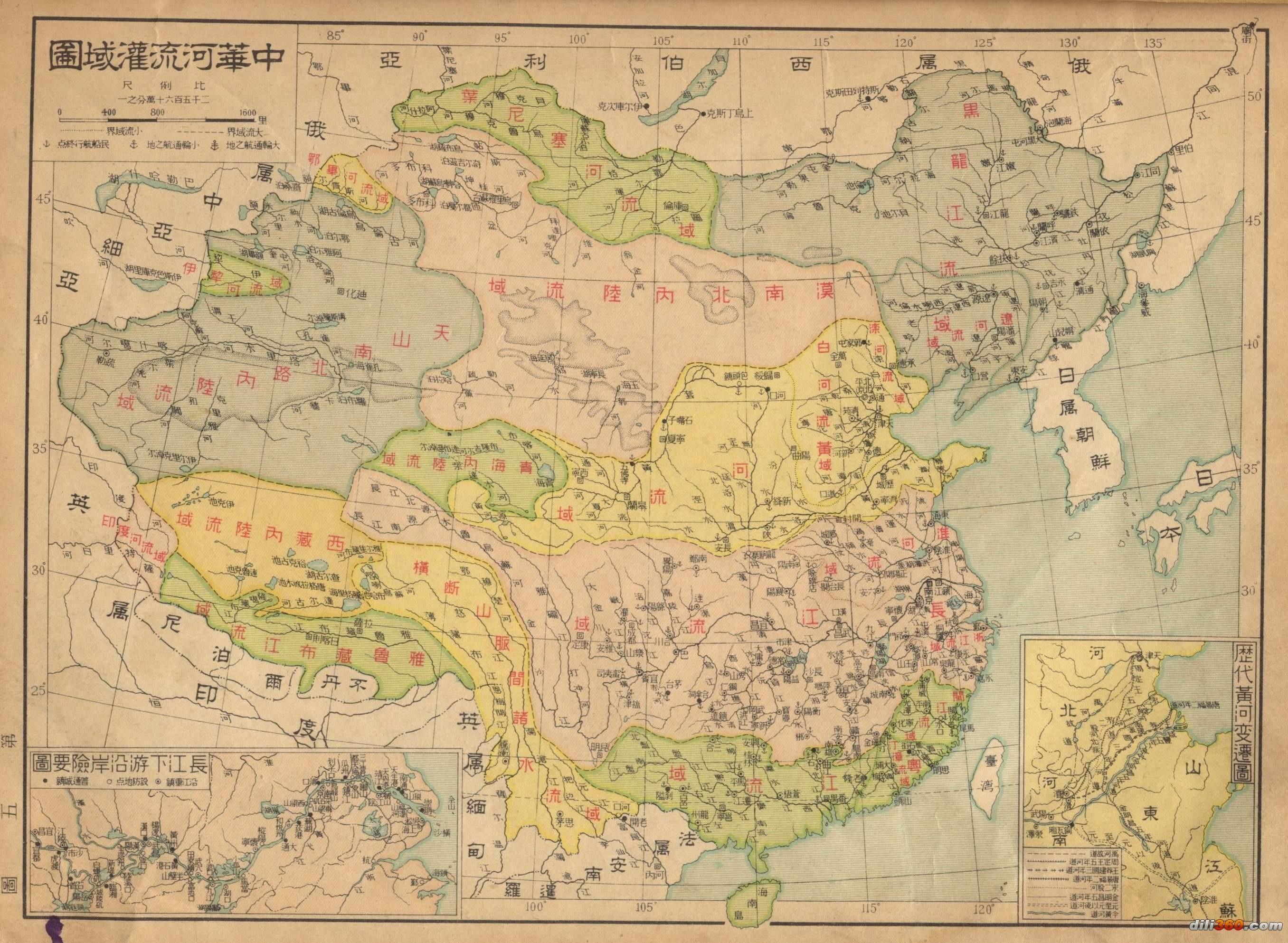 當然,為了經營西域和遼河平原,歷代有時向河西走廊和遼西走廊延伸.圖片