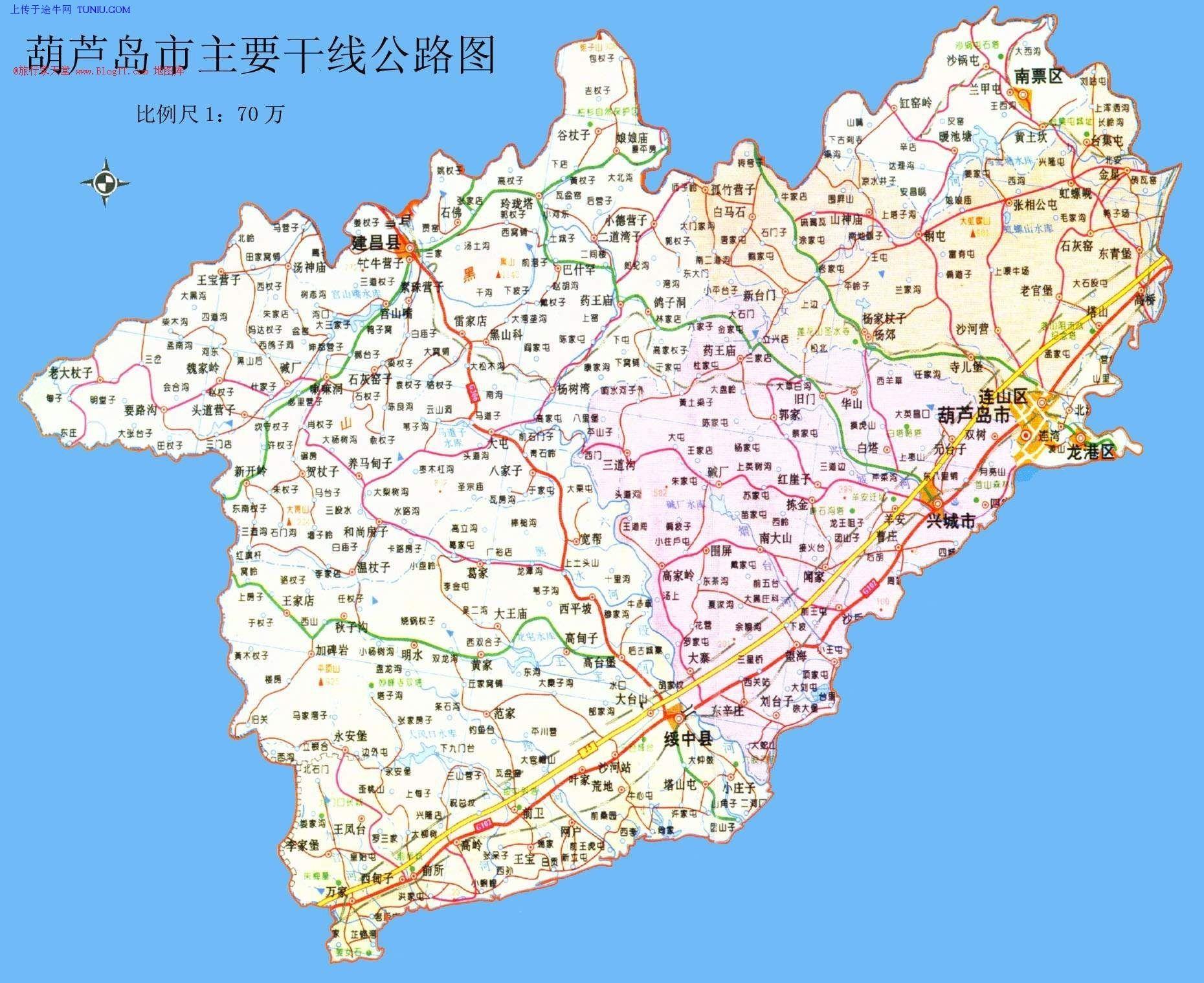 葫芦岛市政府那一块是什么时候从连山区划到龙港区的?
