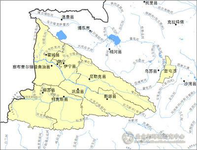 新疆维吾尔自治区党委和政府决定撤销伊犁地区,变动伊犁哈萨克自治州