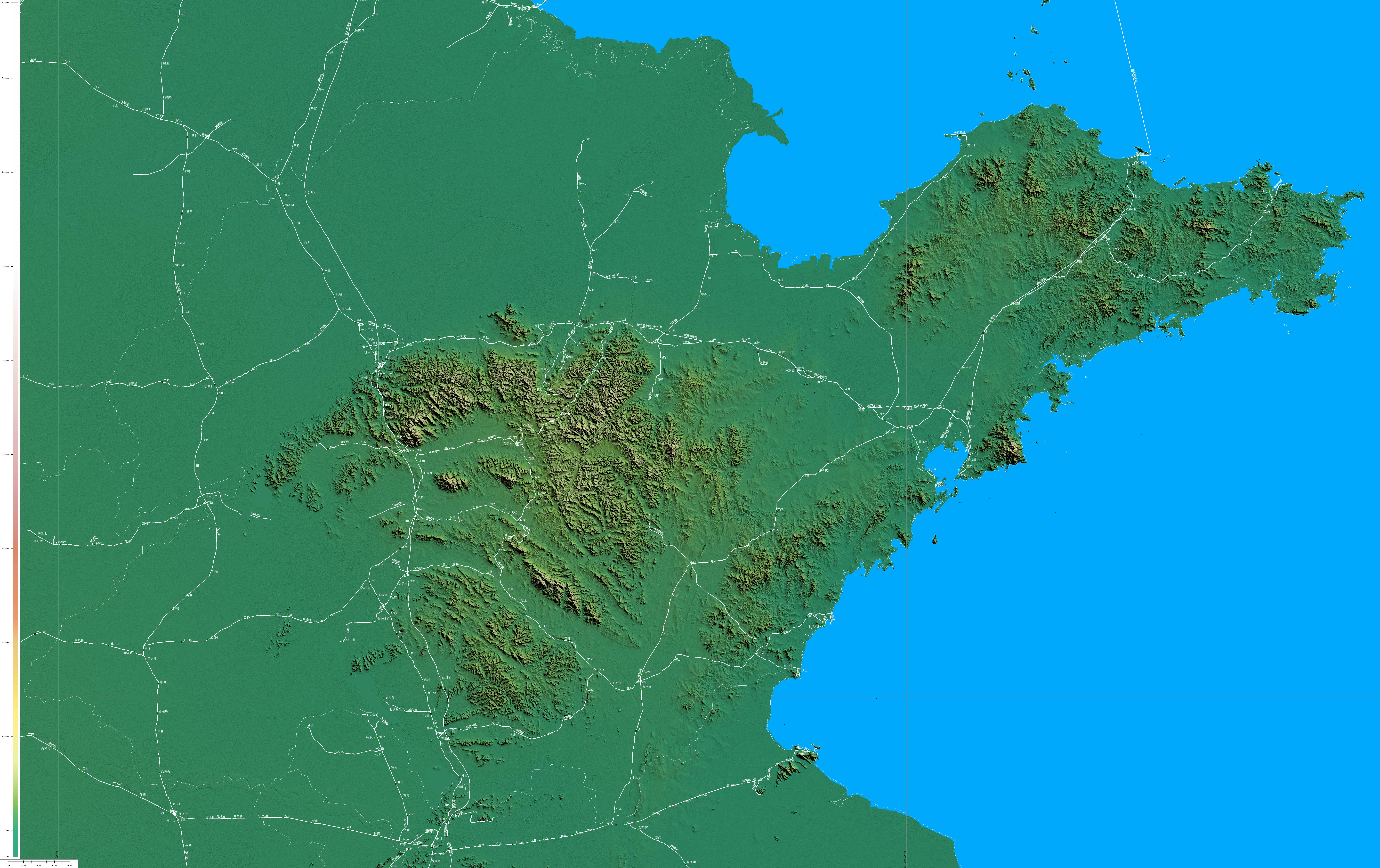 曲阜尼山风景区地图